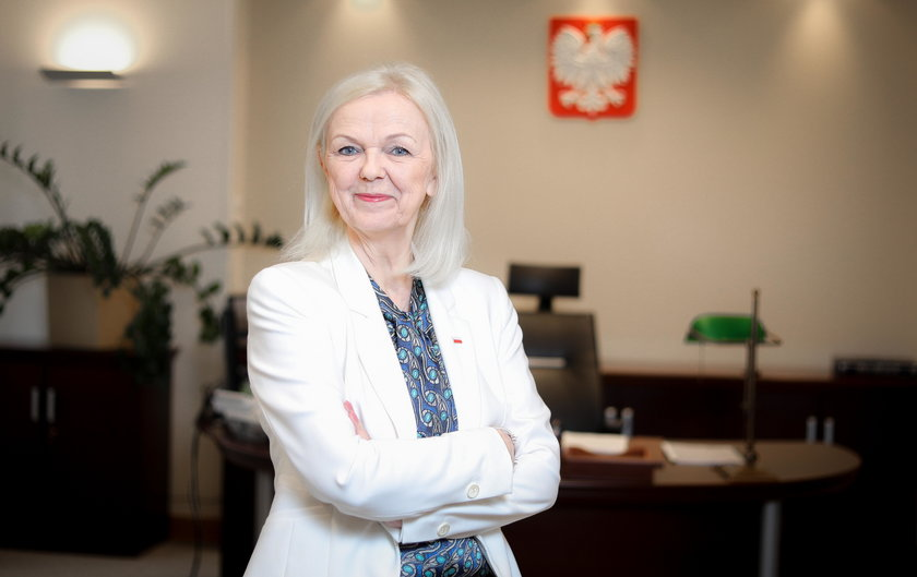 Bożena Borys-Szopa (65 l.) minister rodziny
