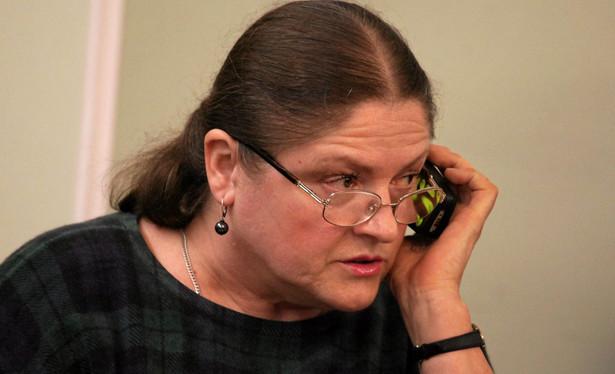 Krystyna Pawłowicz przegrała proces z Agorą