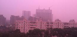Fioletowe zachody słońca niepokoją Chińczyków