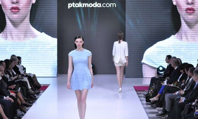 Pokaz mody w Ptak Expo