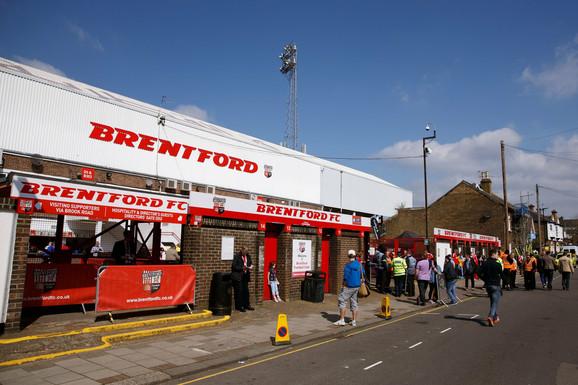 Prilaz stadionu Brentforda