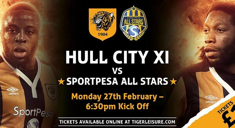 The match will be beamed live from Hull City's KCOM Stadium across six channels.