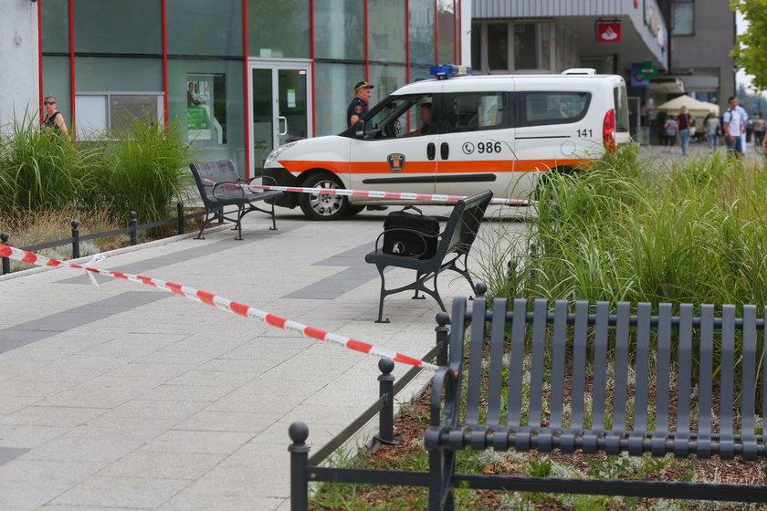 Alarm w centrum Łodzi