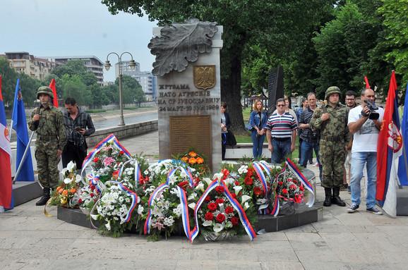 Spomenik Nato žrtvama u Nišu