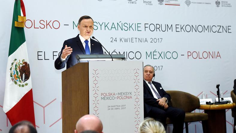 Prezydent Duda w Meksyku