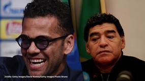 Alves zakpił z Maradony, córka legendy broni ojca