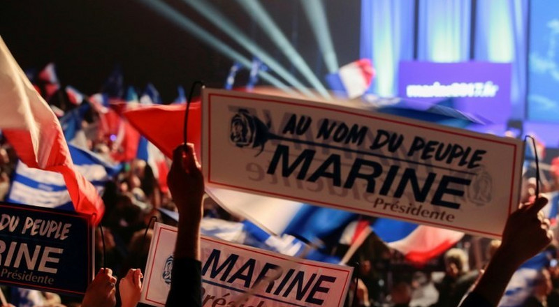 Who are Marine's voters in France?