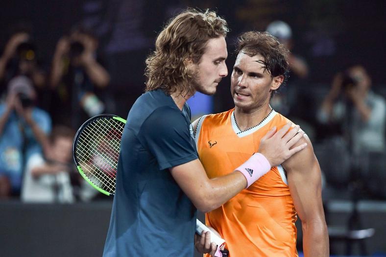 Rafael Nadal took just 47 minutes to beat Stefanos Tsitsipas [Australian Open]