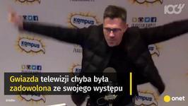 Krzysztof Ibisz rapuje! Prezenter zaskoczył umiejętnościami