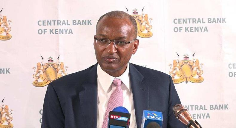 Central Bank of Kenya Governor Patrick Njoroge. CBK flags 800 bank accounts as Sh1,000 note September 30 deadline approaches