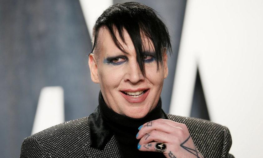 Policja wydała nakaz aresztowania Marilyna Mansona!