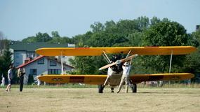Pokaz lotniczej akrobacji i powietrzny fotograficzny plener w Piotrkowie Trybunalskim