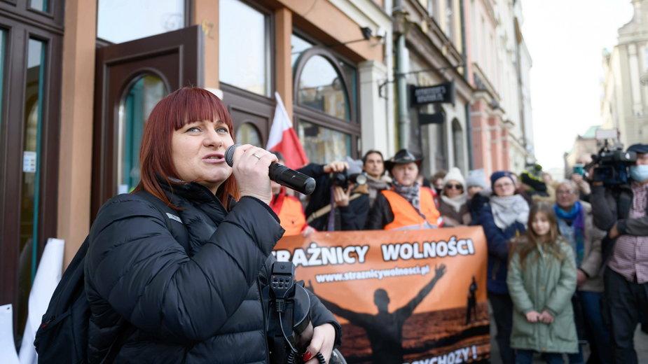 Justyna Socha ze stowarzyszenia Stop NOP