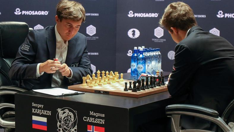 FIDE World Chess Championship Match 2016. Round Nine