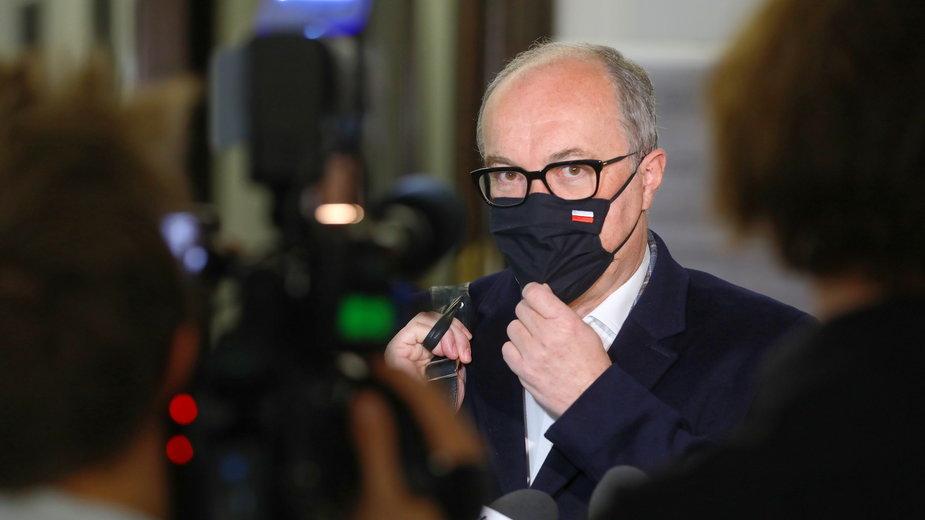 Włodzimierz Czarzasty w Sejmie (4 maja 2021)
