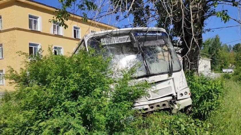 Koszmarny wypadek autobusu.