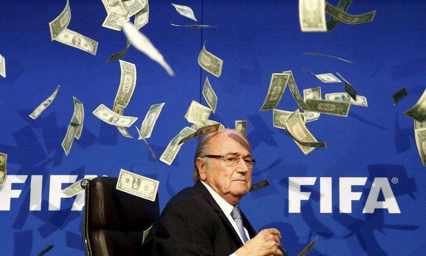 Blatter bliski śmierci. Słyszał śpiew aniołów