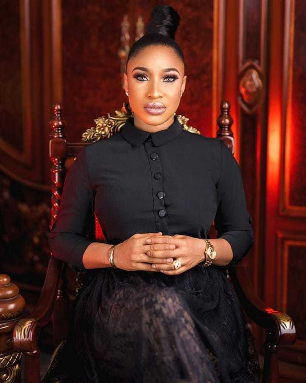 Tonto Dikeh is not the first celebrity who has called out online beggars [Instagram/TontoDikeh]