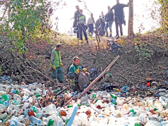 Plastika koju su prikupili vredni učesnici akcije odneta je na reciklažu