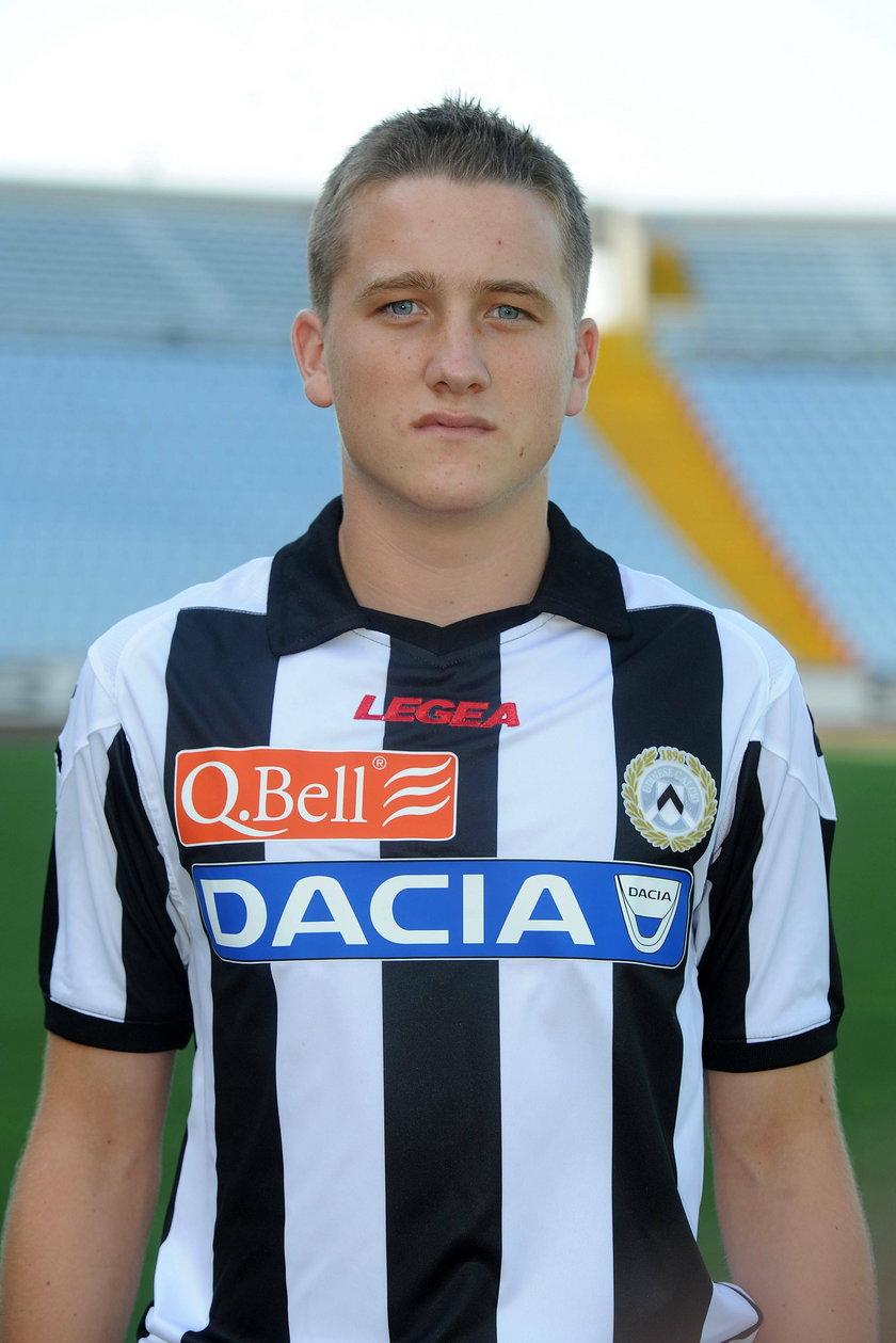 Piotr Zieliński w koszulce Udinese