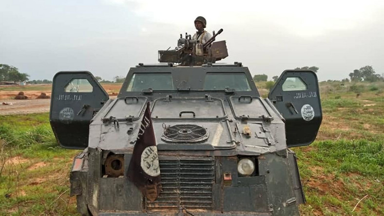 Boko Haram gun truck seized by Nigerian Army troops [Facebook/HQ Nigerian Army]