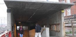 Tunel grozy na Oruni