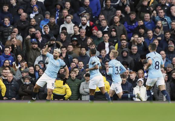 Fudbaleri Mančester sitija su bili ubedljivi u februaru u kome su vezali četiri pobede, a svaka je ostvarena sa najmanje dva gola razlike