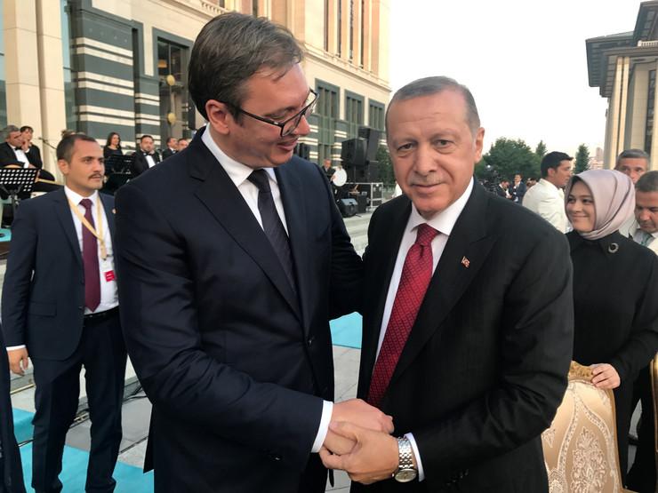 Aleksandar Vučić, turska, erdogan, kabinet predsednika RS