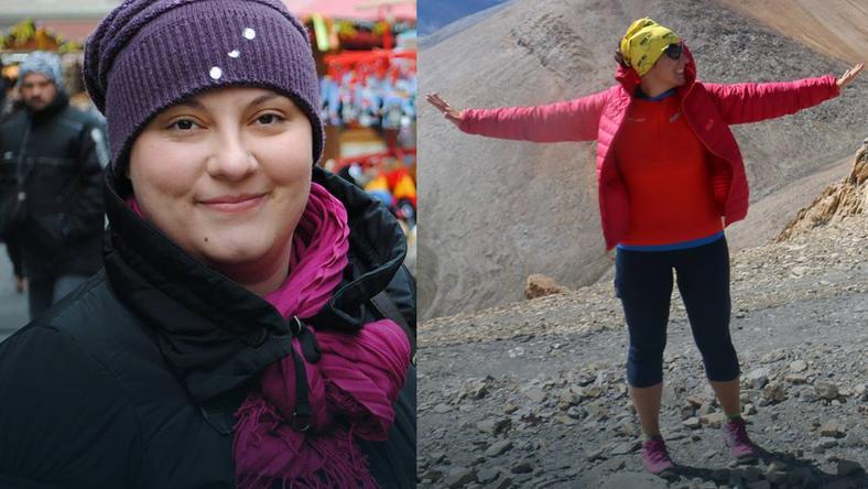 Ania Kamińska przed i po metamorfozie