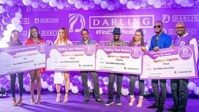 Laycon, Dorathy, Nengi, Vee, others all smiles as darling Nigeria rewards BBN housemates