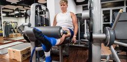 Anita Włodarczyk pobudza mięśnie. Szykuje się na nowy sezon