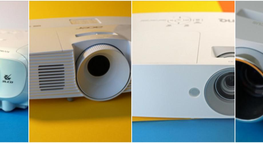 Vier Full-HD-Beamer bis 600 Euro im Vergleichstest