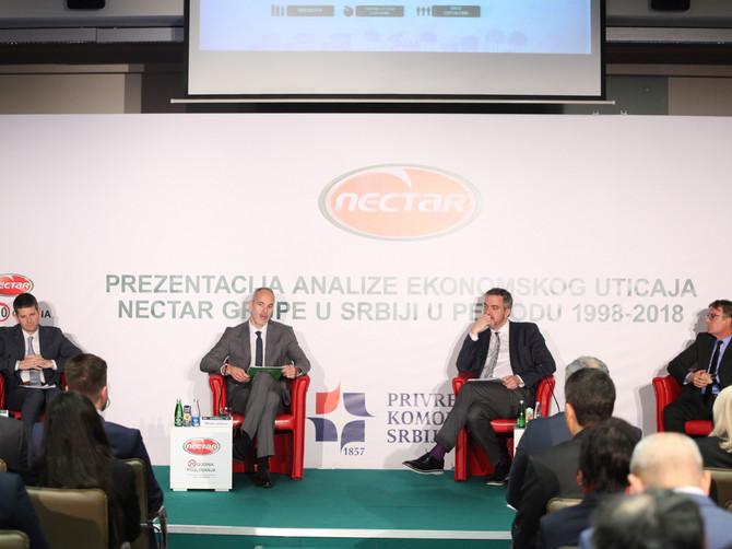 NECTAR od osnivanja stvorio preko milijardu evra bruto dodatne vrednosti
