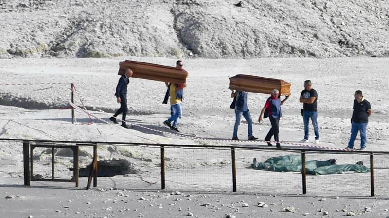 Trzyosobowa rodzina zginęła w kraterze wulkanu pod Neapolem