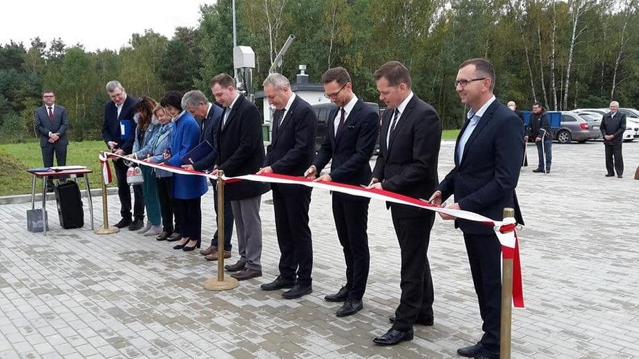 Uruchomiono Gminną Oczyszczalnię Ścieków w Kurowicach
