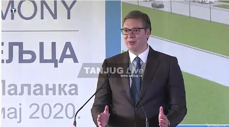 Aleksandar Vučić, Smederevska Palanka
