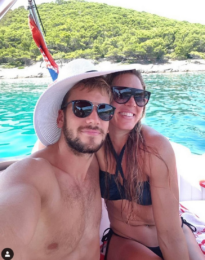 Antun Novaković i Milica Starović