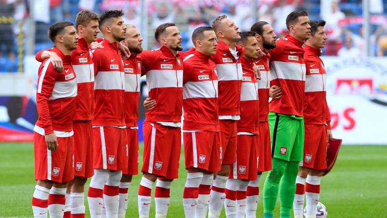 Piłkarska reprezentacja Polski przed meczem towarzyskim z Islandią, na Stadionie Miejskim
