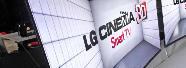 TV OLED LG z zakrzywionym ekranem