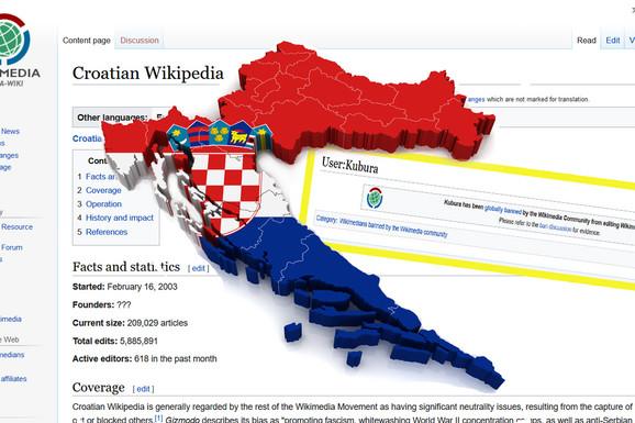 """NDH-PEDIJA Kako je ustaša pod nadimkom Kubura okupirao hrvatsku Vikipediju i na njoj više od 10 godina """"umivao"""" čak i genocid u Jasenovcu"""
