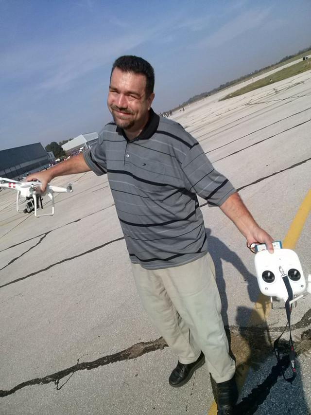 Đorđe Jojkić, snimatelj dronom