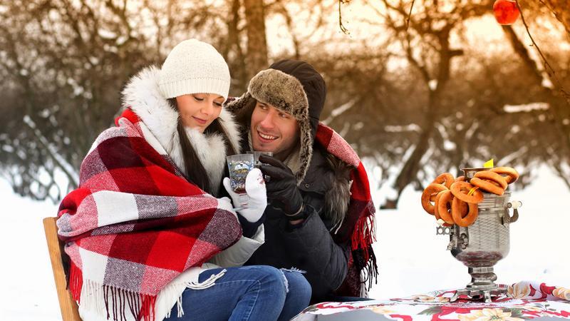 randka w zimie