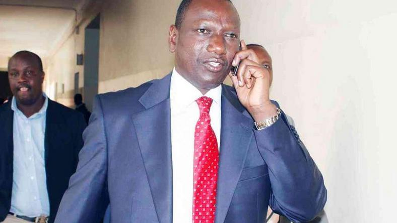 File image of DP William Ruto