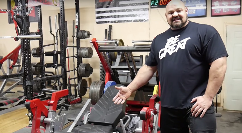 Watch Strongman Brian Shaw Give a Tour of His $150,000 Personal Gym