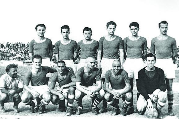 Zvezdin tim iz 1945/46.