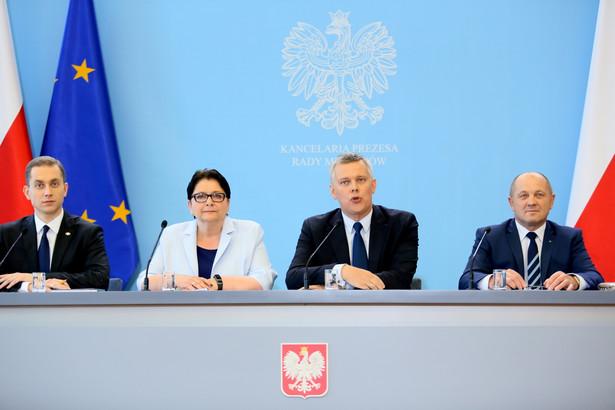 Konferencja prasowa po posiedzeniu rządu