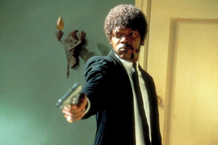 """Samuel L. Jackson w """"Pulp Fiction""""."""
