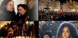 Poruszające sceny w Gdańsku. Ten śpiew rozdzierał serca