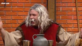 """Tomasz Karolak w parodii """"Korony królów"""" w """"SNL Polska"""""""