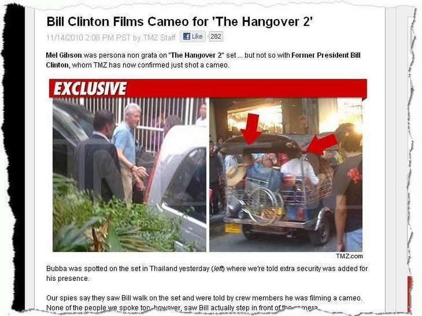 Clinton został aktorem
